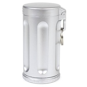 WINDMILL(ウインドミル) 携帯灰皿 ハニカムジュニア 7本収納 シルバー 586-0001