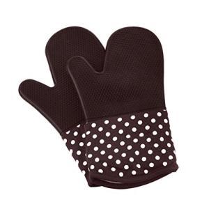 Home 断熱オーブンミトン シリコン手袋 300℃ 耐熱ミトン 業務用 オーブンミット 滑り止め ...