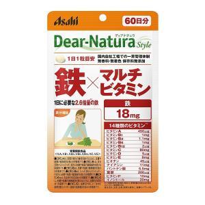 ディアナチュラスタイル 鉄×マルチビタミン 60粒 60日分 サプリメント|sunage