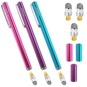 ■濃密導電ファイバー ゴム製と比較して滑りと反応が格段に良く、操作性・耐久性に優れたタッチペンです。...