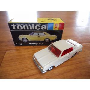 ★30周年復刻版旧車★ トミカ No.2 コロナマークII|sunauto3