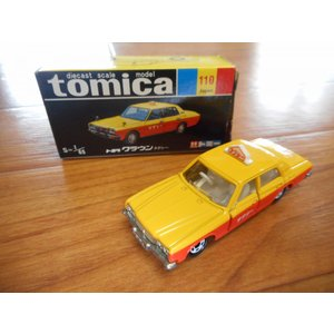 ★30周年復刻版旧車★ トミカ No.110 クラウンタクシー|sunauto3