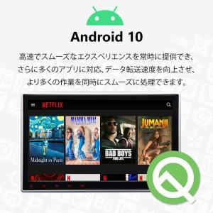 カーナビ 10.1インチ Android8.0大画面 2DIN静電式一体型車載PC WIFI ブルートゥース DVD/CD Bluetooth(GA2173J)一年保証 sunbobo-jp 04