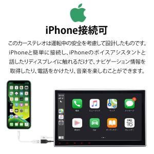 カーナビ 10.1インチ Android8.0大画面 2DIN静電式一体型車載PC WIFI ブルートゥース DVD/CD Bluetooth(GA2173J)一年保証 sunbobo-jp 06