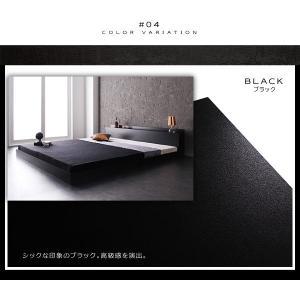セミダブルベッド マットレス付き セミダブルベッド ベッド ベット ローベッド ロータイプベッド|sunbridge-webshop|04