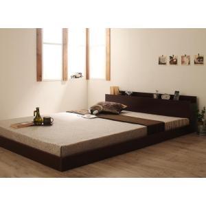 ダブルベッド マットレス付き ベッド ベット ローベッド ロータイプベッド|sunbridge-webshop|03