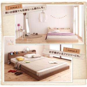 シングルベッド シングルベット ポケットコイルマットレス付き シングルベッド ローベッド ロータイプベッド 北欧ベッド|sunbridge-webshop|06