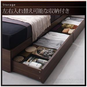 ベッド セミダブルベッド マットレス付き 収納付き|sunbridge-webshop|06