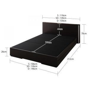 ベッド ベット 収納ベッド 収納つきベッド シングルベッド シングルベット マットレス付き 宮付き (収納 収納つき)|sunbridge-webshop|04