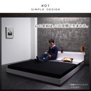 ベッド ベット キングベッド キングベット ローベッド ロータイプベッド マットレス付き|sunbridge-webshop|04