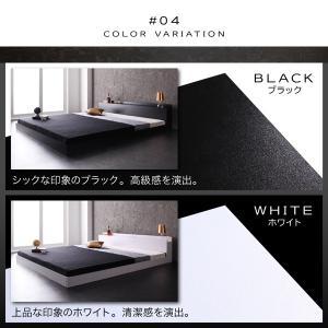 ベッド ベット キングベッド キングベット ローベッド ロータイプベッド マットレス付き|sunbridge-webshop|06