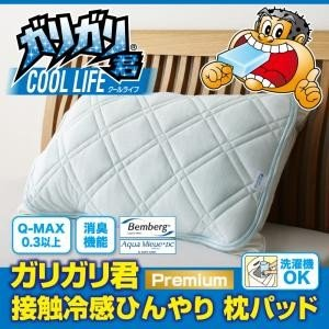 (冷却 ひんやり 冷感) 枕 ガリガリ君【Premium】接触冷感ひんやり枕パッド|sunbridge-webshop