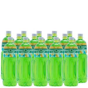 ライムシロップ(業務用)【ライムフレーバーシロップ】1Lペットボトル×15本|sunc-shopping