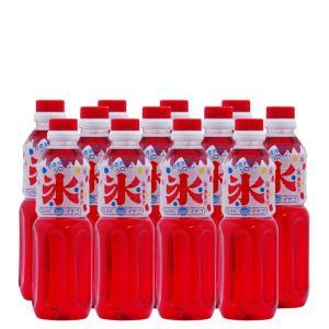 かき氷(カキ氷)シロップ イチゴ 500ml×12本 sunc-shopping