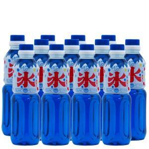 かき氷(カキ氷)シロップ ブルーハワイ 500ml×12本 sunc-shopping