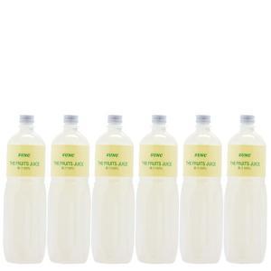 レモンジュース (レモン果汁100%) 業務用1L×6本|sunc-shopping