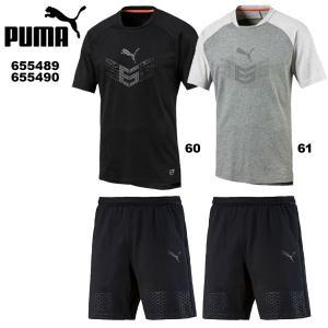 プーマ 365 TEE ショーツ 上下セット 655489-655490 puma トレーニングウエア|suncabin