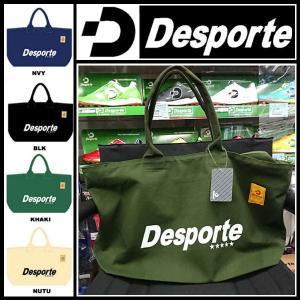 デスポルチ キャンパス トート バッグ 大 ジップ式  DSP-TOTE03 Desporte スポーツ バック カバン|suncabin