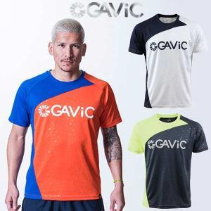 ガビック(GAViC)/半袖 プラクティスシャツ GA8079  ■カラー: WHT)ホワイト NV...