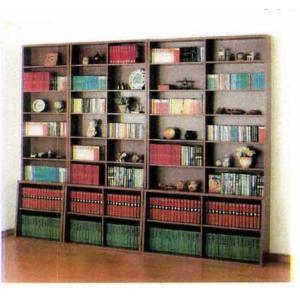 本棚・本屋さんの書棚・ハイタイプ120cm 【送料無料】|sundance