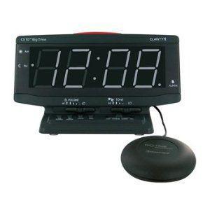 振動式強力目覚まし時計ビックタイムネオアラームクロック |sundance