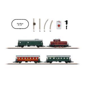 #81871【メルクリン ミニクラブ(Z)】スターターセット 「ディーゼル機関車+客車」|sundance