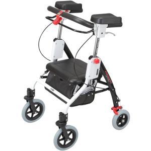 歩行器 ユーバ産業(UBER) 肘置き付歩行車 室内外兼用 アームフィット|sundance