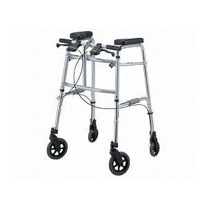 (歩行器・車輪付)・セーフティーアームUタイプウォーカー 大型アームレストタイプ 「SAUJ」|sundance