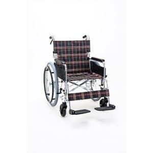 車椅子 ワイドタイプ(座面幅46cm)車いす(自走式・背折れタイプ) KS50-4643|sundance