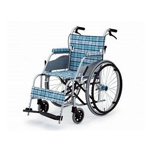 車椅子 自走式超軽量車いす KARL (カール)KW-901B スカッシュ ブルー|sundance