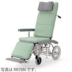 ルリクライニング 車椅子 RR70NB 介助ブレーキ付|sundance