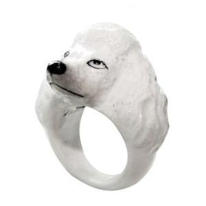 Nach プードル ナッシュ アニマルリング 犬 いぬ dog 指輪|sunday-brunch