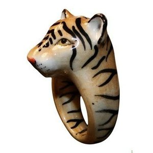 Nach トラ ナッシュ アニマルリング タイガー とら 虎 tiger 指輪 送料無料|sunday-brunch