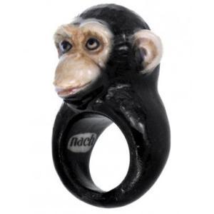 Nach チンパンジー ナッシュ アニマルリング 指輪 送料無料|sunday-brunch