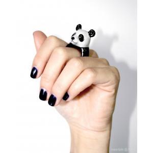 Nach パンダ ナッシュ アニマルリング panda 指輪|sunday-brunch