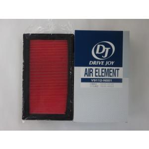 ダットサン 〈KA24E〉 (LFMD22 1997/01〜1999/06用) エアエレメント V9112N001|sunday-mechanic