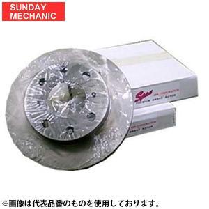 タント (L350S/360S [取付注意有] 2003/11〜2007/12用) SPIRIT製 F/ディスクSet 106530|sunday-mechanic