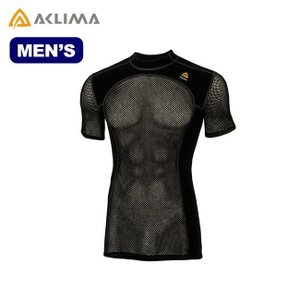 ACLIMA アクリマ ウールネットTシャツ メンズ 101637 アンダーウェア