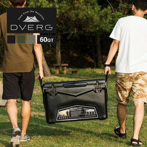 DVERG ドベルグ DVERG×ICELANDクーラーボックス 60QT 保冷力 大型 キャンプ ...