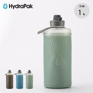 Hydrapak ハイドラパック フラックスボトル 1L 水筒 軽量 コンパクト 折り畳み ソフトボ...