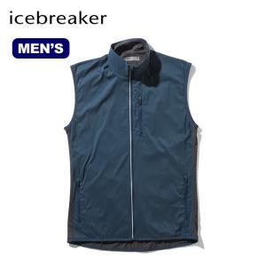 Icebreaker アイスブレーカー メンズ テックトレイナーハイブリッドベスト メンズ ベスト