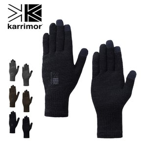 karrimor カリマー ウールロゴグローブ 手袋 グローブ ウール 防寒具