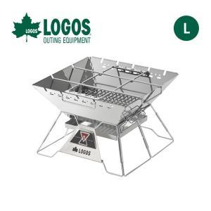 LOGOS ロゴス LOGOS The ピラミッドTAKIBI L グリル ダッチオーブン 焚火台 ...