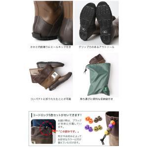 日本野鳥の会 バードウォッチング長靴 レインブ...の詳細画像5