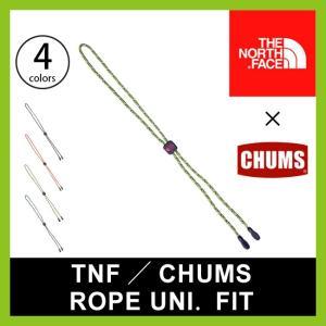 THE NORTH FACE ノースフェイス TNF/CHUMS ロープユニバーサルフィット 眼鏡ストラップ メガネホルダー コード ストラップ チャ フェス|sundaymountain