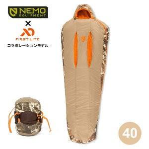 NEMO ニーモ スカウト40 シュラフ 寝袋 寝具 マミー ミイラ コンパクト 軽量