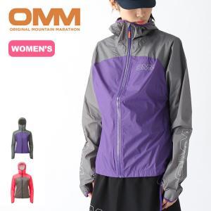 OMM オリジナルマウンテンマラソン ハロジャケット【ウィメンズ】 レディース レインジャケット シ...