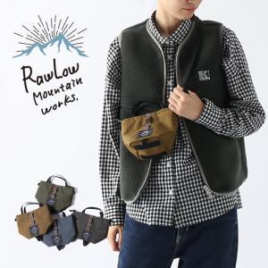 RawLow Mountain Works ロウロウマウンテンワークス 【チビチビ】トート キッズ ...