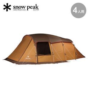 テント snow peak スノーピーク エントリー 2ルーム エルフィールド キャンプ テント 4人用 キャンプ アウトドア|OutdoorStyle サンデーマウンテン