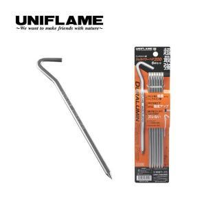 UNIFLAME ユニフレーム ジュラパワーペグ200 6本セット